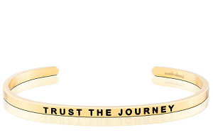 Trust the Journey Gold
