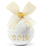 2016 Re Deco Christmas Ball Ornament 18412