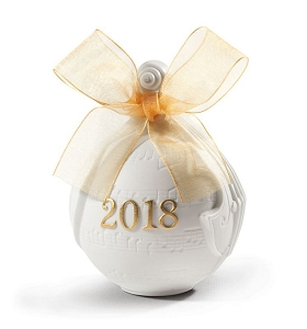 2018 Annual Christmas Ball Ornament Re Deco 18435