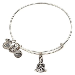 Buddha Bangle Rafaelian Silver