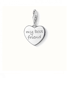 My Best Friend Heart Charm 0799-001-12