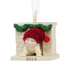 Sneaking Down The Chimney Ornament 2014 4039826