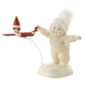 Snowbabies Elf On The Shelf Flying Lesson 4051840