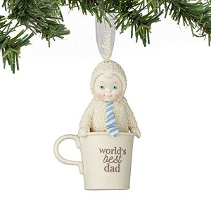 Snowbabies Worlds Best Dad Ornament 4051899