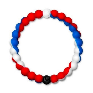 Lokai Red White and Blue Small