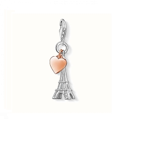 Eiffel Tower Heart Charm 0904-415-12