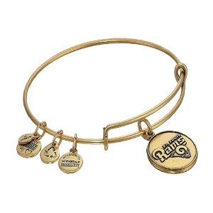 Saint Louis Rams Logo Charm Bangle Rafaelian Gold