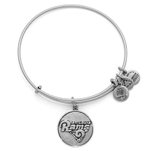 Saint Louis Rams Logo Charm Bangle Rafaelian Silver