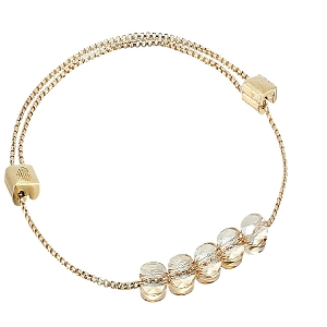Golden Shadow Expandable Bracelet Gold