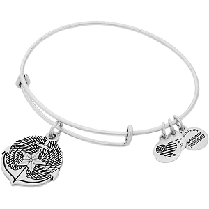 Anchor Charm Bangle Rafaelian Silver