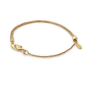 Seahorse Pull Chain Bracelet Gold