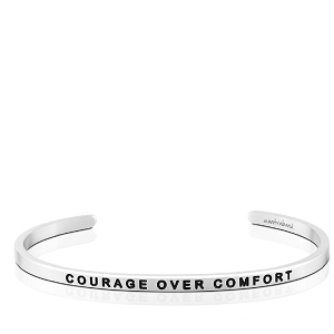Courage Over Comfort Silver