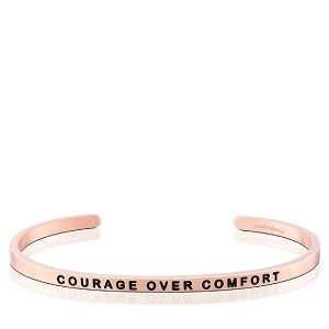 Courage Over Comfort Rose Gold