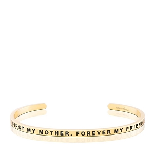 First My Mother Forever My Friend Gold