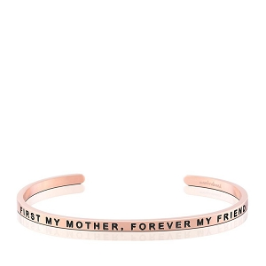 First My Mother Forever My Friend Rose Gold