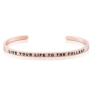 Live Your Life To The Fullest Rose Gold