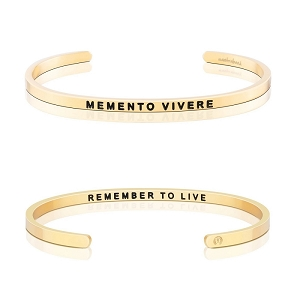 Memento Vivere, Remember To Live Gold