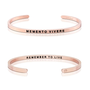 Memento Vivere, Remember To Live Rose Gold