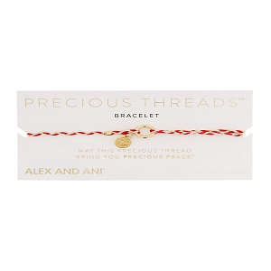 Royal Cardinal Braid Precious Thread Bracelet
