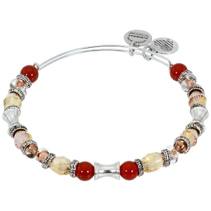 United Earth Beaded Bracelet Silver