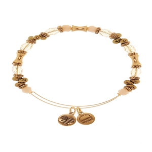 United Glory Beaded Bracelet Gold