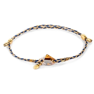Golden Shadow Galactic Crystal Precious Threads Bracelet