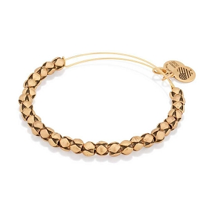 Traveler Beaded Bangle Rafaelian Gold