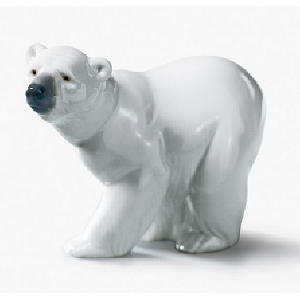 Attentive Bear White 1207