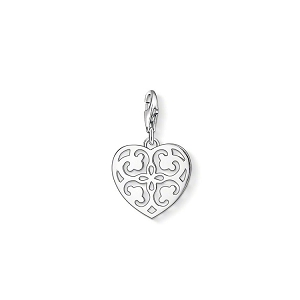 Arabesque Heart Charm 1054-001-12