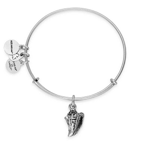 Conch Shell Bangle Rafaelian Silver