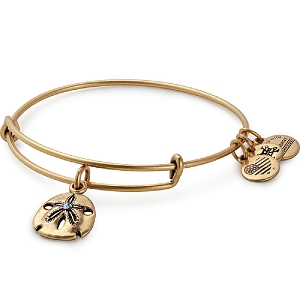 Sand Dollar Charm Bangle Rafaelian Gold