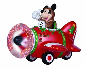 Precious Moments LED Mickey Mouse Plane Disney 131706