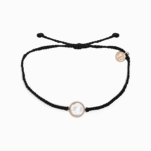 Mother Of Pearl Bracelet Black