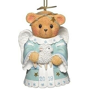 Cherished Teddies Dated 2019 Annual Angel Ornament 132842