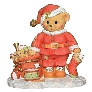 2019 Annual Santa Chris Santa Bear 132844