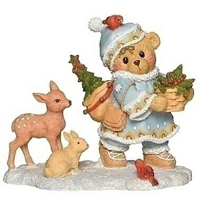 Cherished Teddies Inga 2019 Laplander Series Figurine 132846
