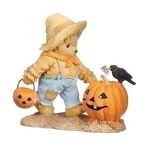 Halloween Tommy With Pumpkin & Crow Boo 132853
