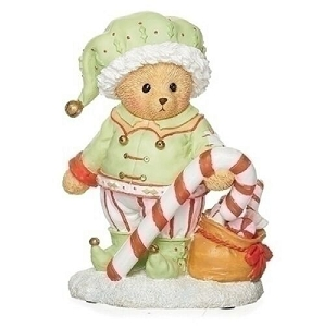 Percy the Elf Bear Figurine 133478
