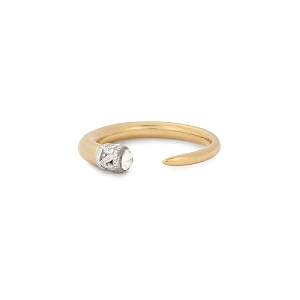 Horn Ring Wrap 14kt Gold Plated