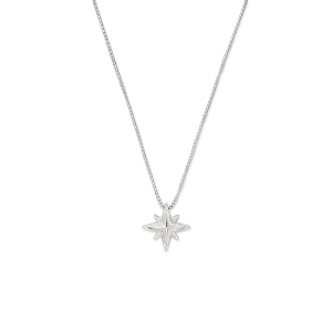Wonder Woman Star Adjustable Necklace Sterling Silver
