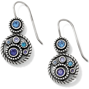 Halo French Wire Earrings JE9663
