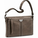 Jagger Cross Body Organizer Pewter H4241P
