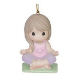 Peace And Serenity Yoga Ornament 151039