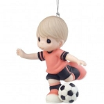I Get A Kick Out Of You Boy Soccer Player Ornament 161039