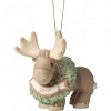 Merry Christmoose Dated 2017 Ornament 171009