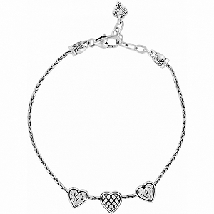 Enchanted Hearts Anklet J90160