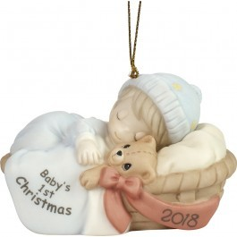 Baby's First Christmas 2018 Ornament Boy 181006