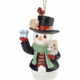 Christmas Cheers For All  Annual Snowman Ornament 181026