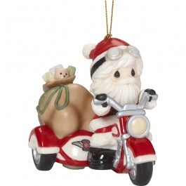Here Comes Santa Claus Ornament 181035