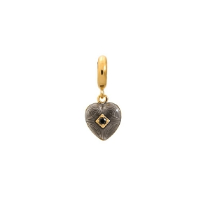 Endless Jewelry Jennifer Lopez Black Big Heart 1875-1